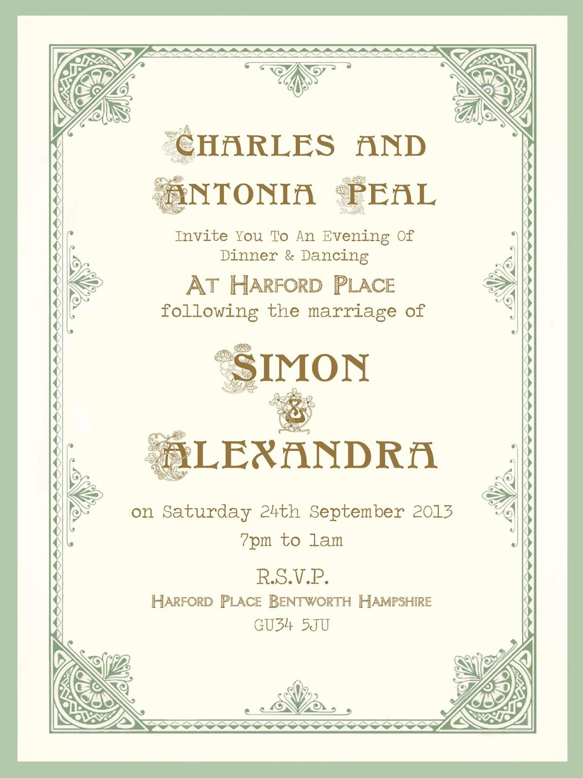 Knots and Kisses Wedding Stationery Art Nouveau Wedding Stationery – Art Deco Wedding Invitations Uk