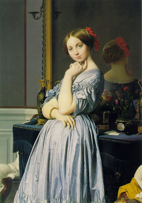 Jean-Auguste-Dominique Ingres Louise de Broglie, Countesse d'Haussonville one objectivists art object of the day