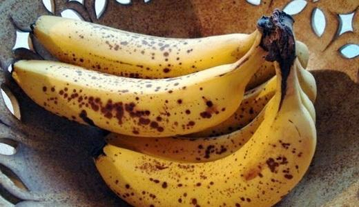 Buah pisang dengan bintik hitam untuk cegah kanker