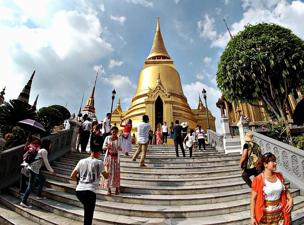 Grand Palace Pagoda - Bangkok Thailand