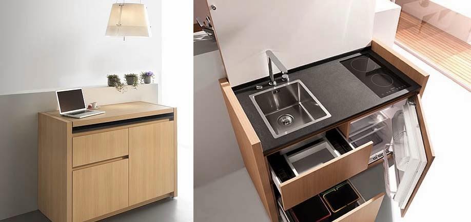 Una recopilaci n de muebles transformables espacios en madera for Casa con muebles transformables