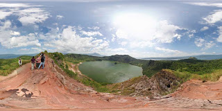 Taal Volcano 360 Panorama