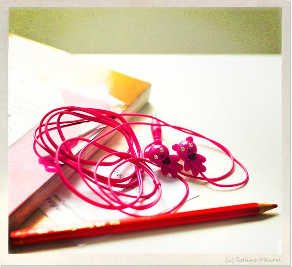 Psynopsis Pink Bear Earplugs