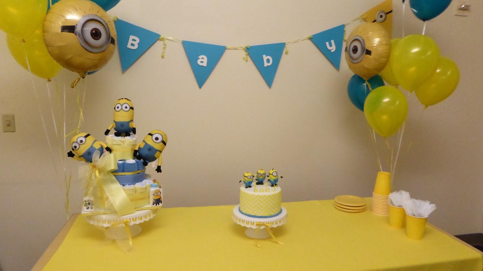 arenita cupcake minions baby shower