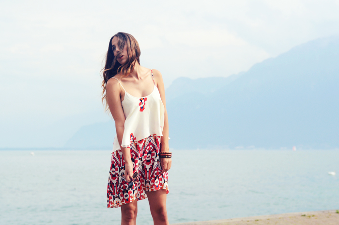 alison liaudat, blog mode suisse, fashion blogger, switzerland, zara, aztec, aldo, lake, léman, geneva, genève