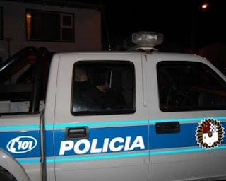 Legisladores con custodia policial