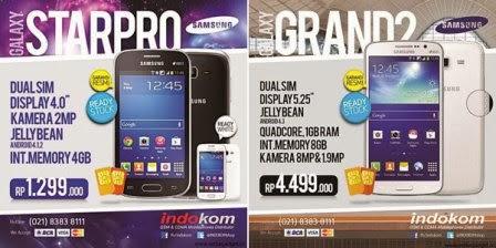 Galaxy Grand 2 dan Galaxy Star Pro sudah tersedia di Indonesia