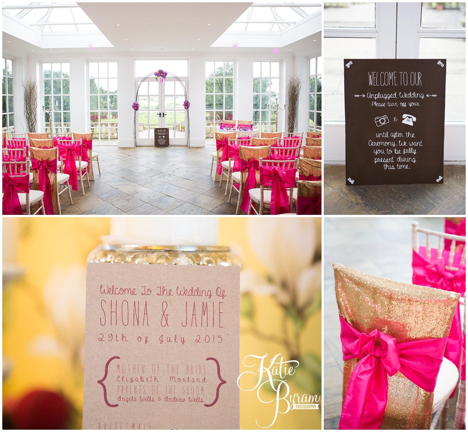Colourful Wedding at Woodhill Hall Shona & Jamie Katie Byram