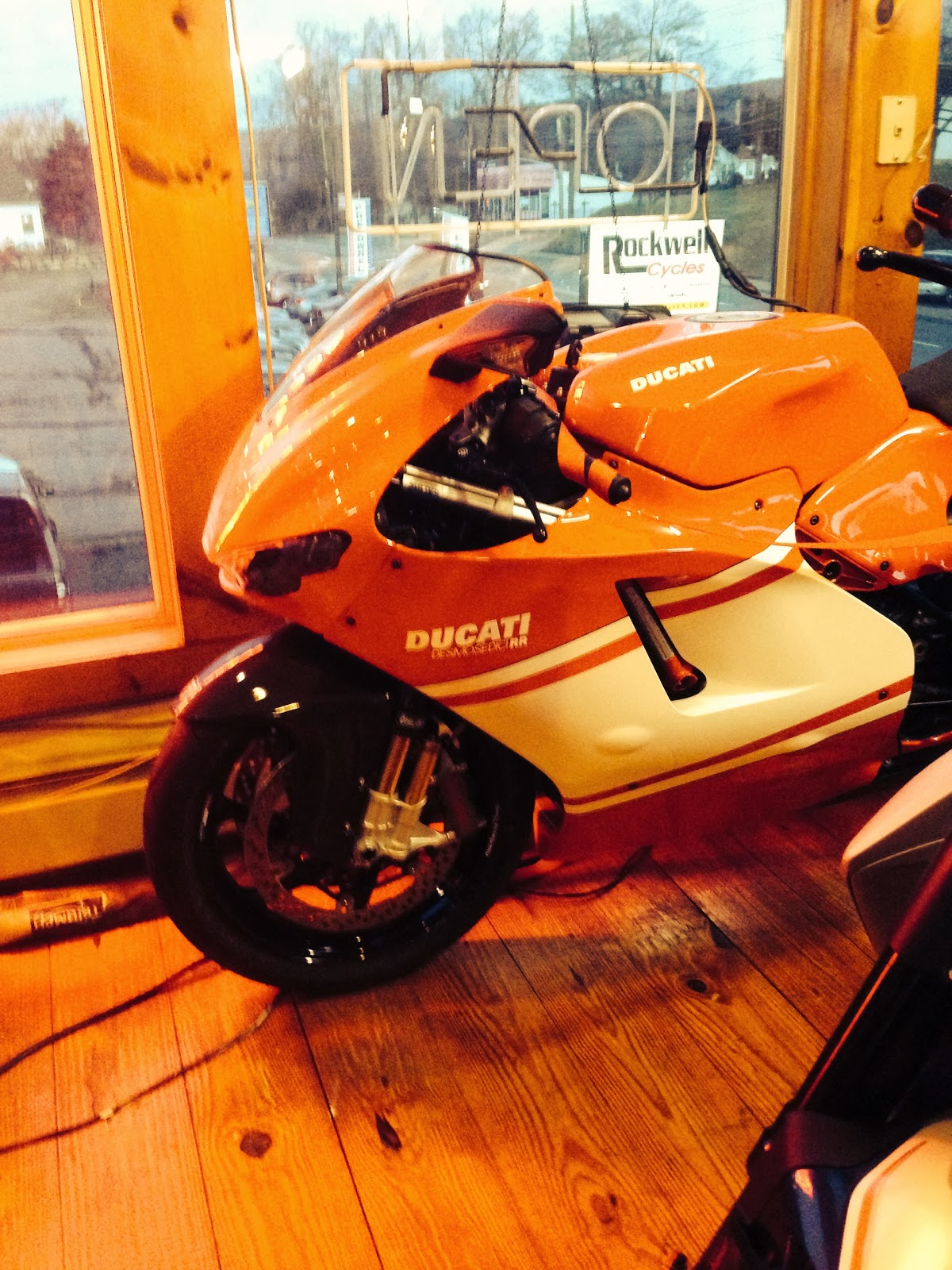 Rockwell Cycle and DESMO Ducati Holiday Parties with the DOCNYC from Tigho NYDUCATI Desmodici RR Panigale