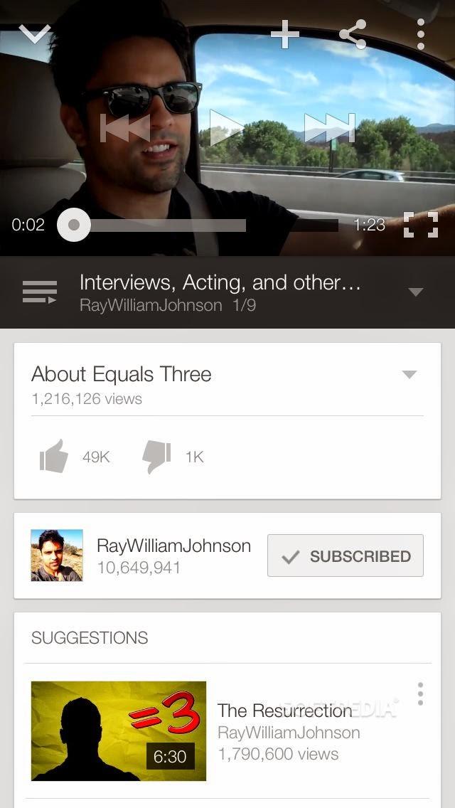 تطبيق يوتيوب للايفون YouTube for iphone