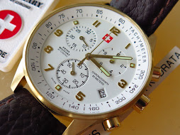SWISS MILITARY CHRONOGRAPH WHITE DIAL