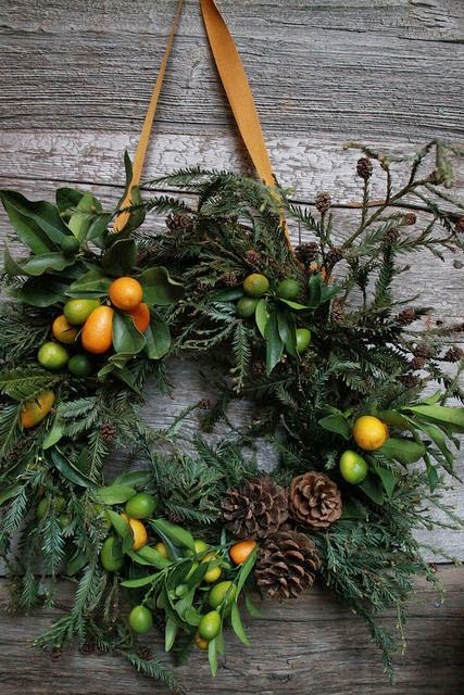 ultimate guide to DIY natural holiday wreaths