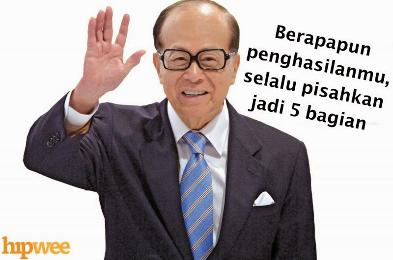 Tips Cepat Kaya ala Li Ka-Shing, Orang Terkaya Asia 2014