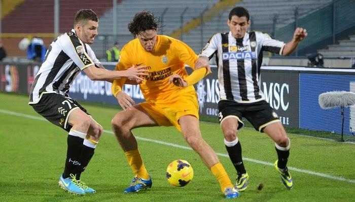 Hellas Verona vs Udinese en vivo