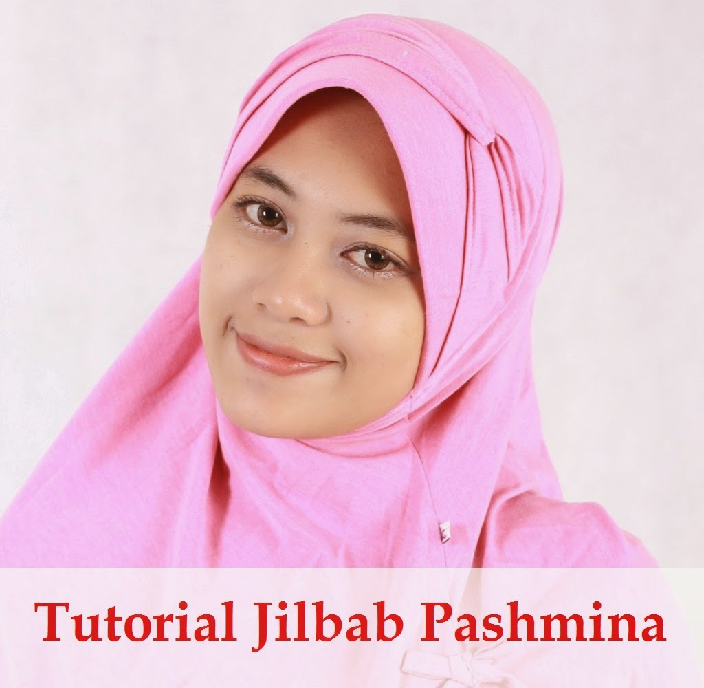 tutorial jilbab pashmina