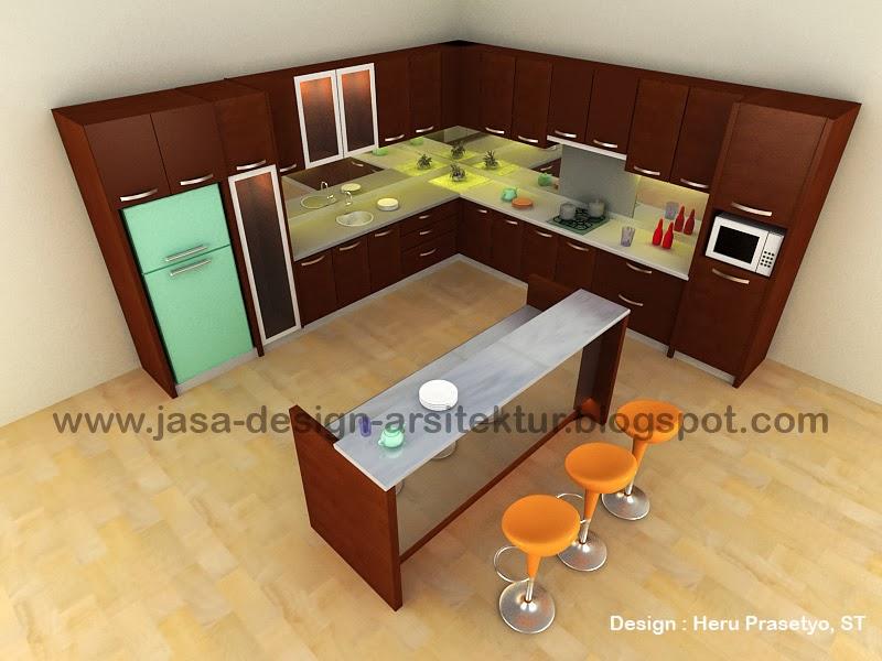 Kontraktor dan desain interior sidoarjo 2012 for Harga pembuatan kitchen set