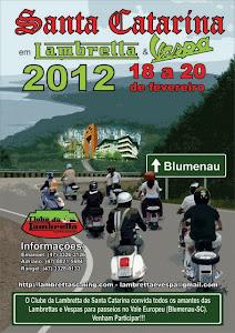 Sta Catarina em Lambretta e Vespa 2012