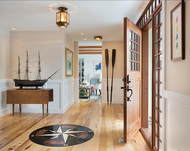 Nautical interior decor