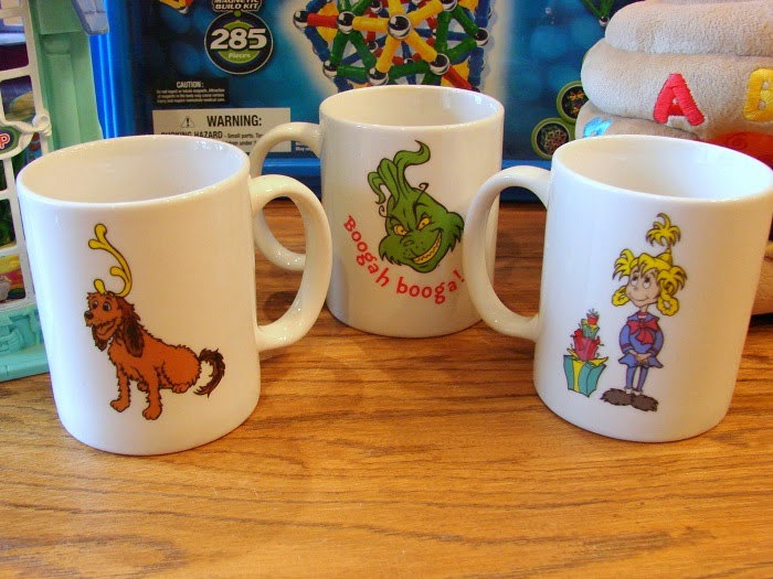 Christmas Grinch Coffee Mugs