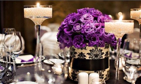 Carnations Wedding Centerpiece
