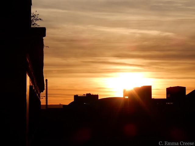 Glasgow sunsets Adventures of a London Kiwi