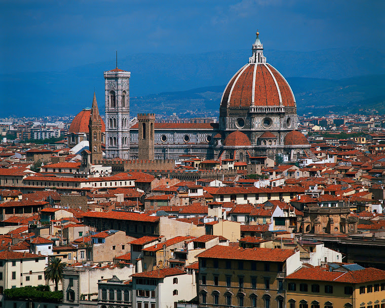 skyline of firenze
