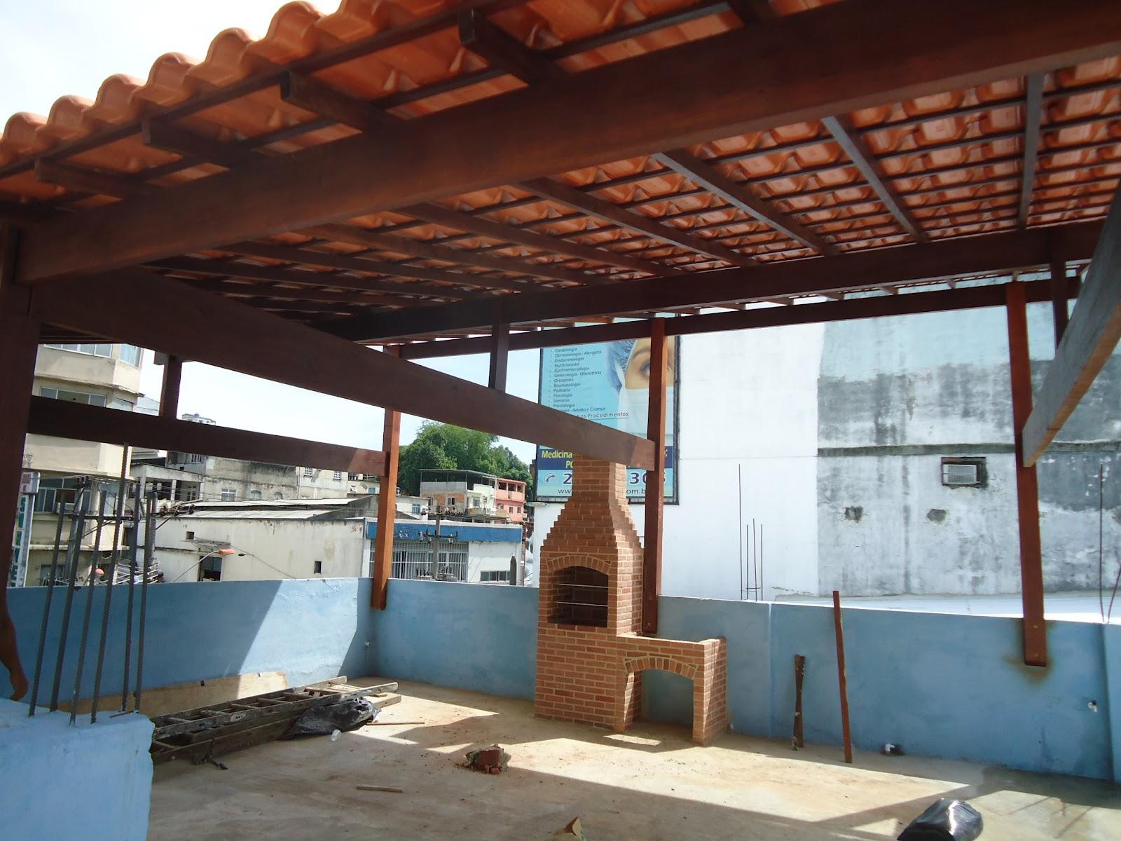 Preferência ZANI Churrasqueiras, telhados e projetos: Telhado colonial  BD78