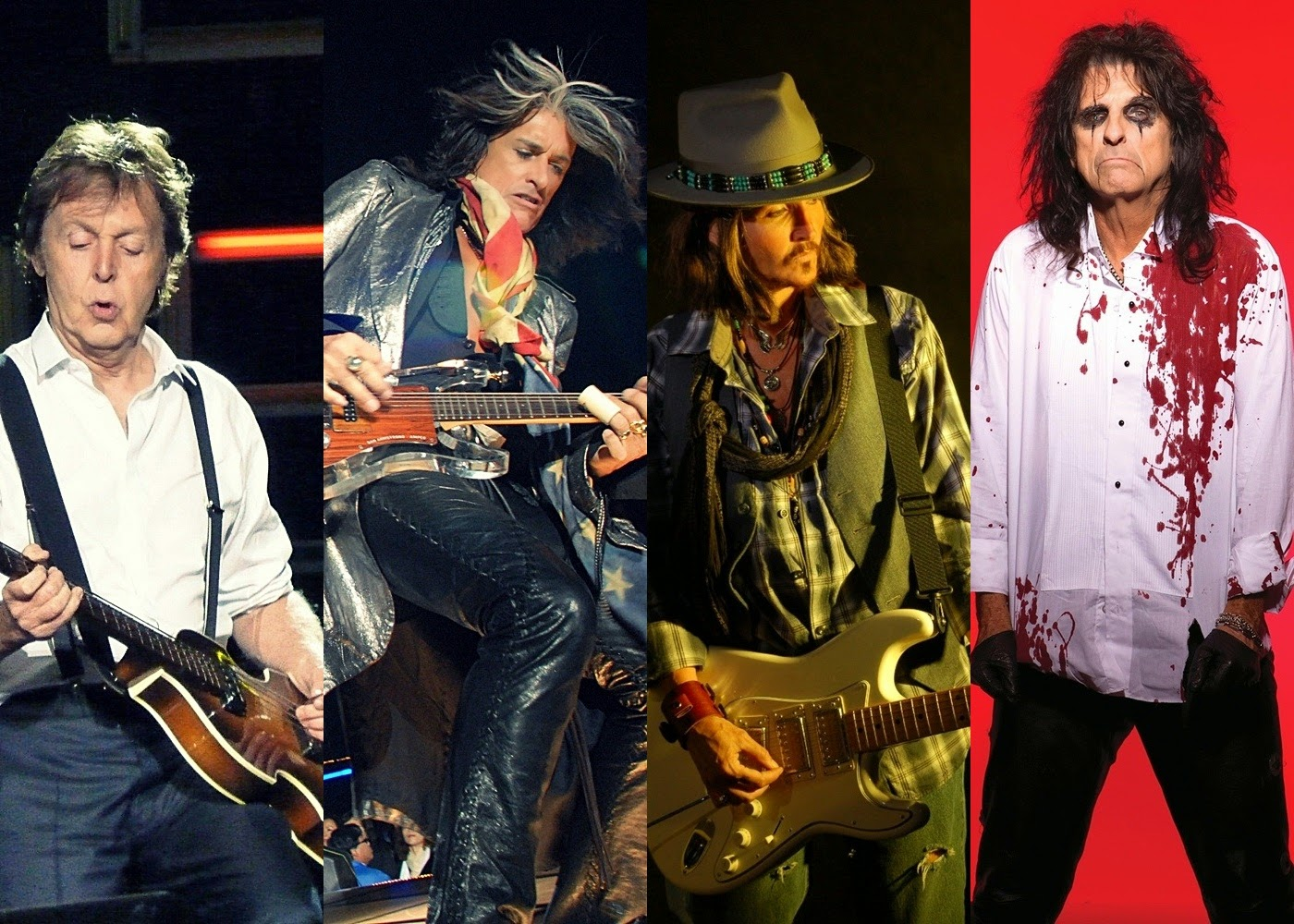 Joe Perry revela projeto com Paul McCartney, Johnny Depp e Alice Cooper