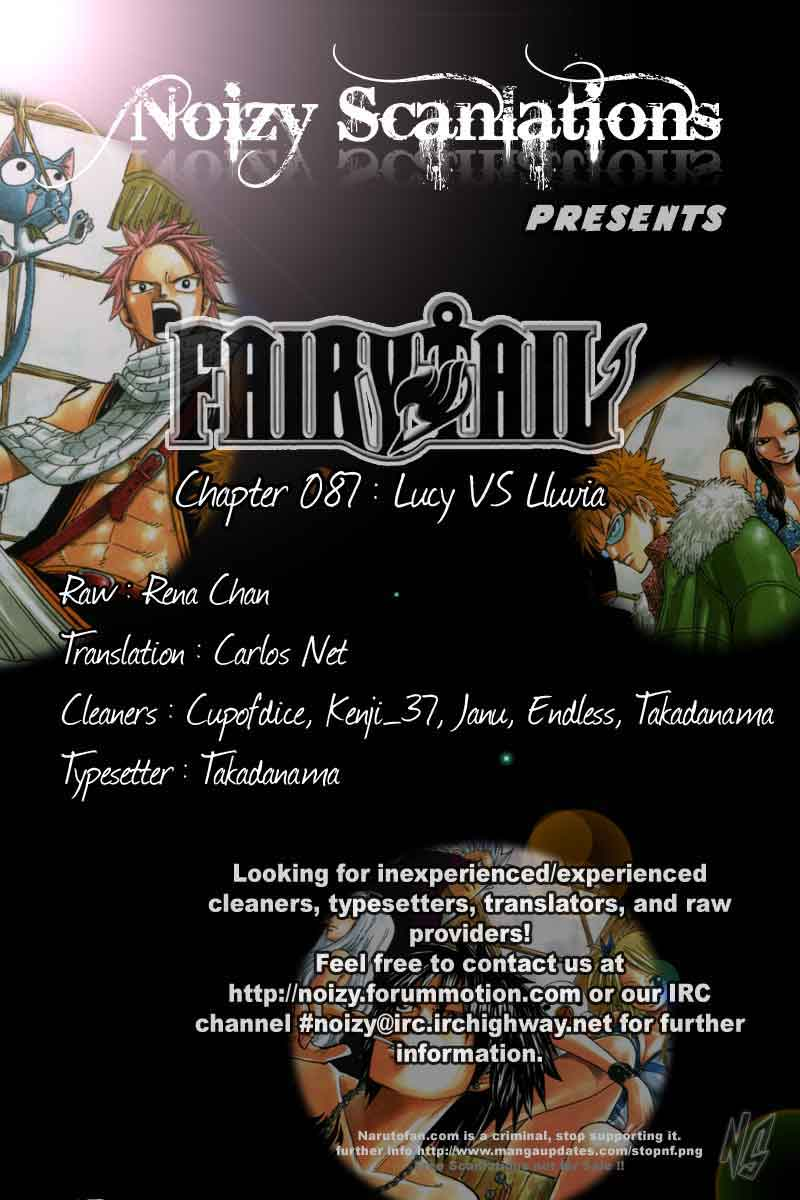 Manga fairy tail 87