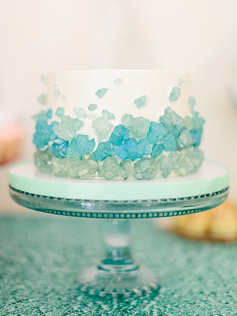 Sea Glass Cake - Sweet and Saucy Shop as seen on 100 Layer Cake