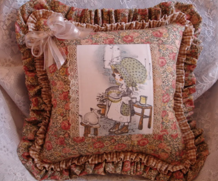 Cuscino Country HOLLY HOBBIE