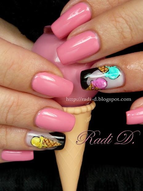nails ice cream