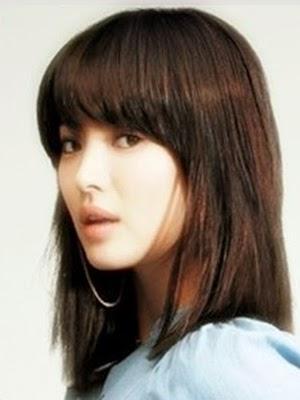 Perawatan Rambut Model Rambut Pendek Sebahu Ala Korea - Gaya rambut pendek berponi