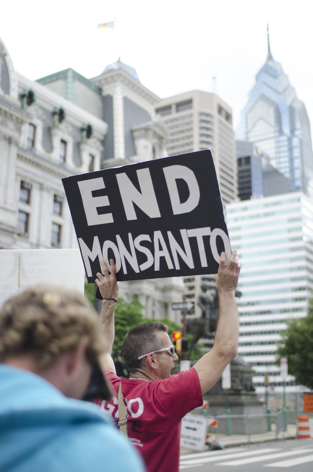 March, Against, Monsanto, Philadelphia, GMO, Protest, Philly