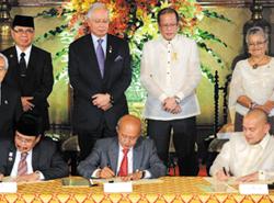 MILF, President Aquino, Philippines, Mindanao, peace treaty
