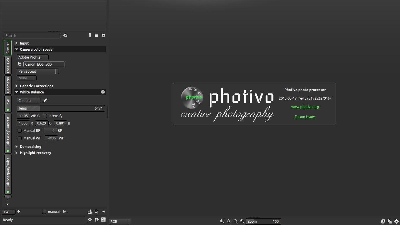 Photivo Review And Tutorial Raw Photo Editor For Linux