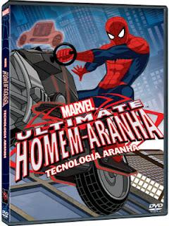 Ultimate Homem-Aranha Tecnologia Aranha DVDRip Dual Áudio 001