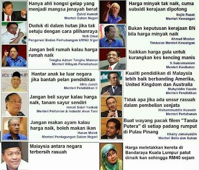 Menteri-menteri Bodoh!