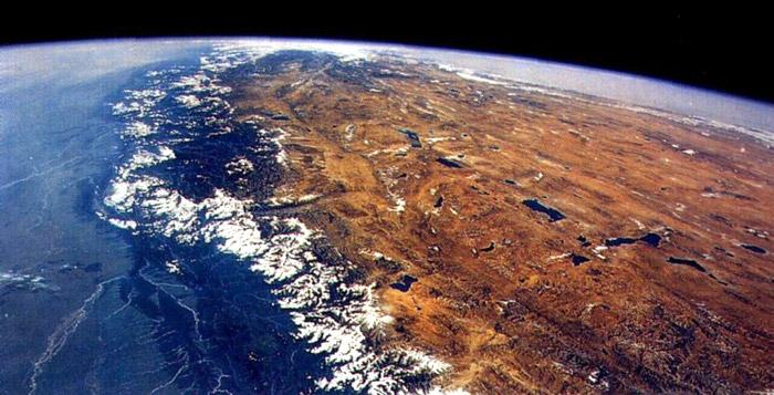 nasa himalayas from space - photo #27
