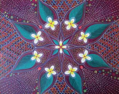 ayahuasca art, ayahuasca visions, shipibo