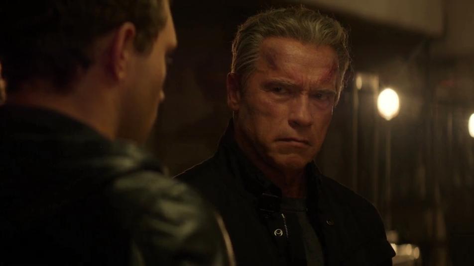 Arnold Schwarzenneger Terminator Genisys