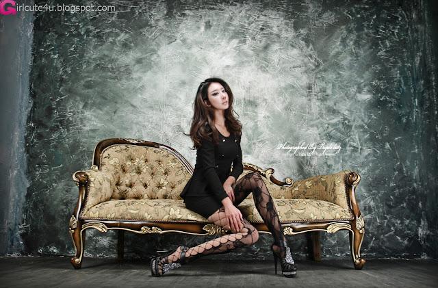 5 Hot Black - Park Hyun Sun-very cute asian girl-girlcute4u.blogspot.com