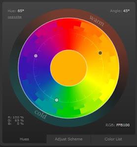 Цветовой круг в помощь дизайнеру