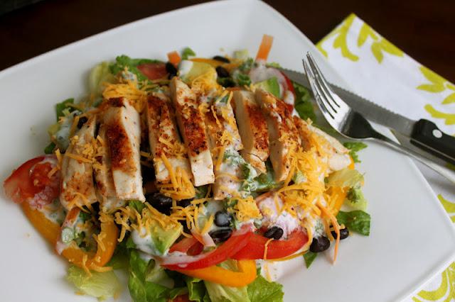Cajun Salad Cajun seasoning chicken rub