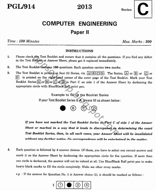 2013 Computer Engineering: AEE Previous Technical Paper - 2
