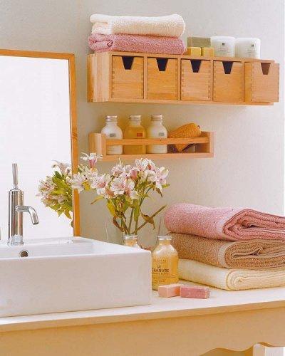 CRIA DA CASA DESIGN Banheiro -> Como Fazer Armario De Banheiro Reciclado