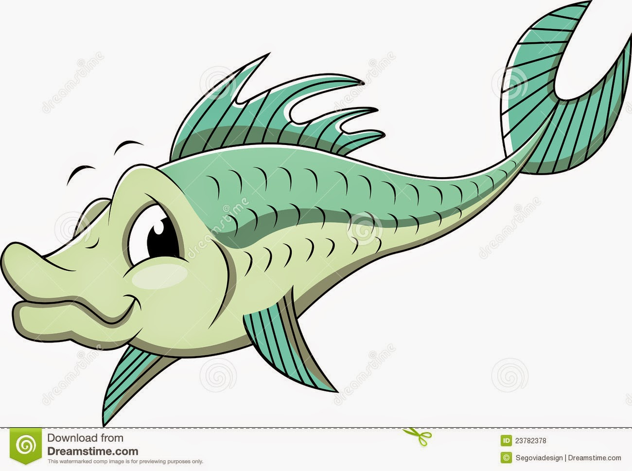 Cartoon Bass Fish Images
