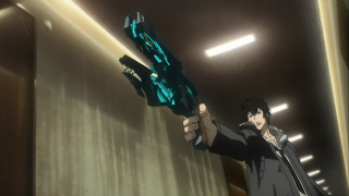 Kogami aims and fires @ Rewriting Life