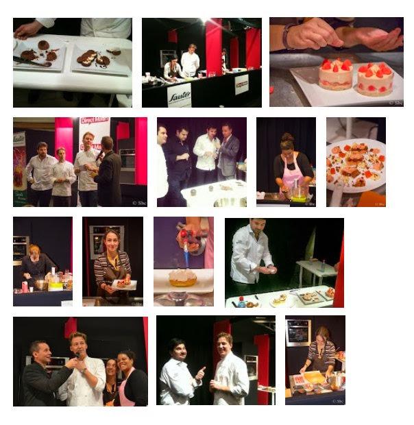 Bloggers pastry cup : concours Duel de choc au Salon du chocolat de Paris 2013