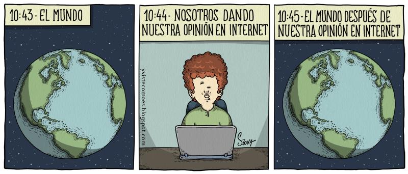 Opinión en Internet